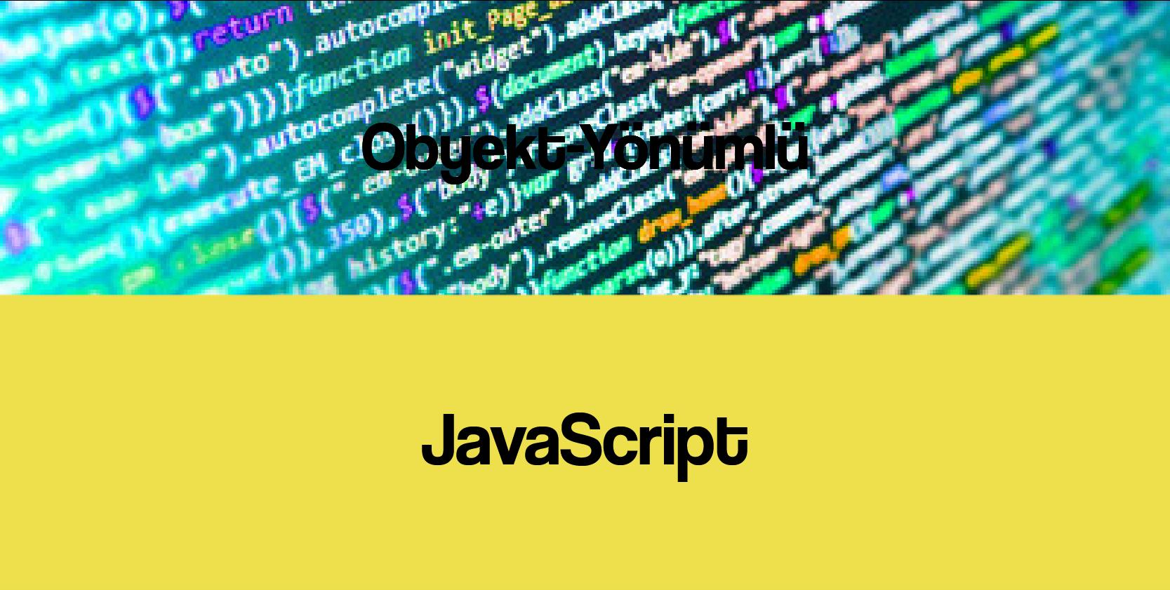 javascript proqramlasdirma dili